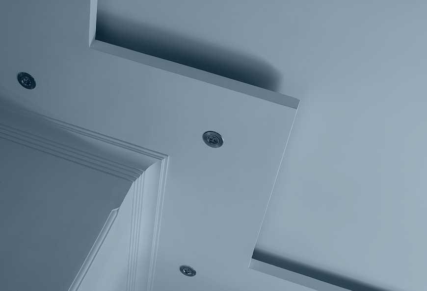 Contro-soffitti e pareti in cartongesso